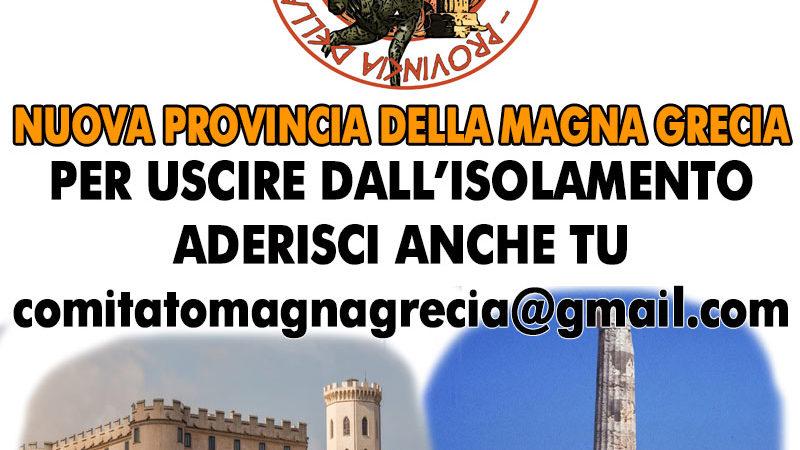 PROVINCIA MAGNA GRAECIA, DUE GLI EVENTI   FISSATE LE DATE DI PRESENTAZIONE DEL PROGETTO