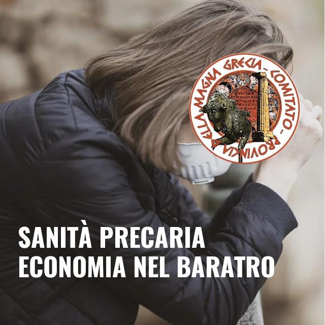 MAGNA GRAECIA, STOP AL LOCKDOWN. POLO COVID BLOCCANO LA RIPARTENZA