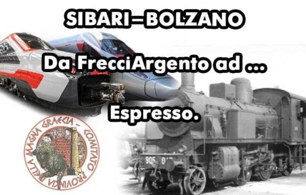 FRECCIA SIBARI-BOLZANO SOSTA A TORANO. NUOVO COLPO DEL CENTRALISMO COSENTINO