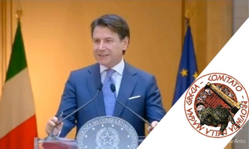 ALTA VELOCITA' TARANTO-REGGIO CALABRIA. L'ANNUNCIO DEL PRESIDENTE CONTE
