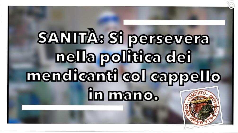SANITÁ SULLO JONIO, REGNA IL CAOS. CENTRALISMO INCAPACE DI AMMINISTRARE