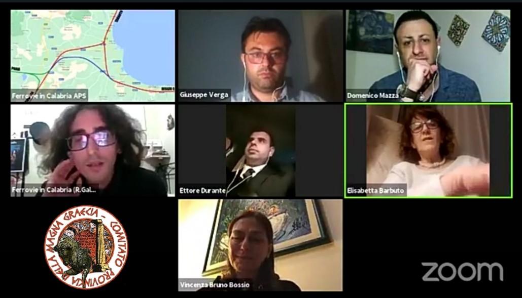 LINEA AV ED INTERCONNESSIONE ALLA RETE FERROVIARIA IN CALABRIA