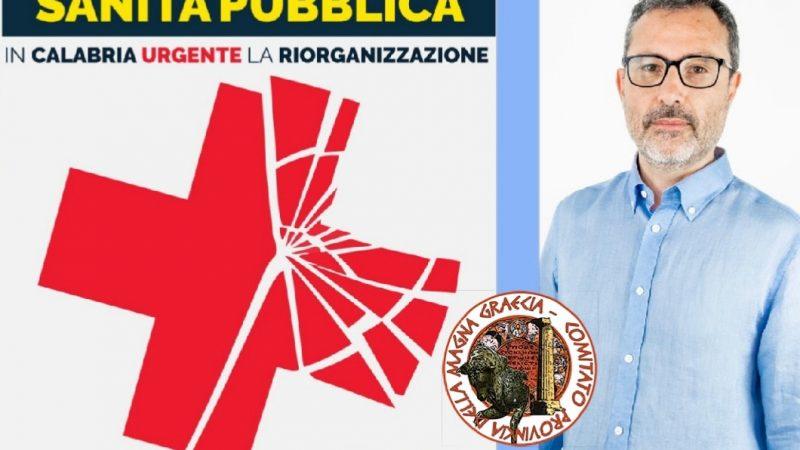 Urgente la riorganizzazione della sanità pubblica in Calabria.